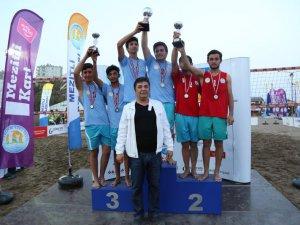 Anamurlu gençler U19 Beach Tour şampiyonu oldu
