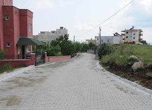 Yenişehir'de İnsu ve Kocahamzalı mahallelerinde parke ve kaldırım çalışmaları devam ediyor