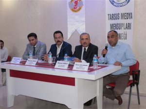Çamlıyayla'da medya temsilcileri öğrencilere medyanın önemini anlattı