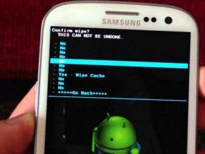 Android telefonlarda fabrika ayarı şoku
