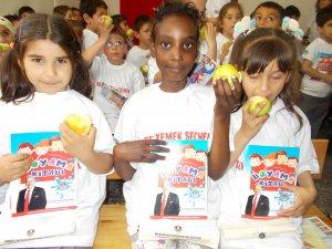 Öğrenciler sağlıklı gıda eğitimi aldı