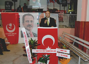 BBP Bozyazı İlçe Başkanlığı, Muhsin Yazıcıoğlu'na Mevlit okuttu