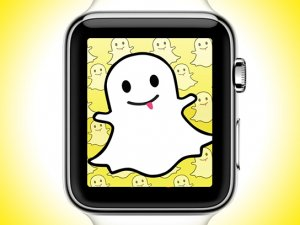 Snapchat, Apple Watch'a geliyor