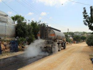 Erdemli'de asfaltlama çalışmaları başladı