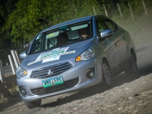 Mitsubishi Attrage yakıt tasarruf rekoru kırdı!