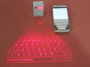 Lenovo'dan projeksiyonlu klavye!