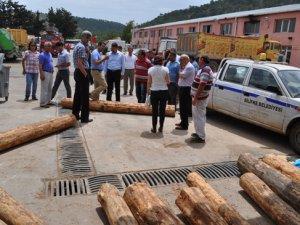 Başkan Turgut, çalışmaları denetledi