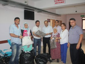 Mut'ta ihtiyaç sahiplerine Ramazan yardımı