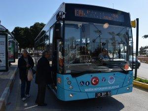 Mersin-Taşucu toplu taşıma seferleri başladı