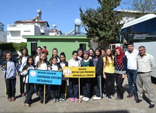 Mersin Birincisi Halk Oyunları Ekipleri Ankara'ya Uğurlandı