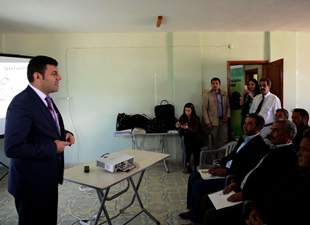 Verimli tarım için eğitim semineri verildi
