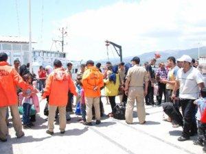 Mersin'de 150 mülteci yakalandı