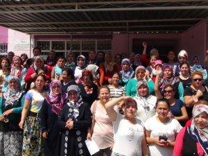 Velilerden okullarının ayrılmasına tepki