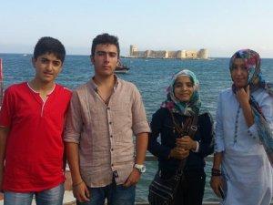 Suriyeli çocuklar Mersin'i gezdi
