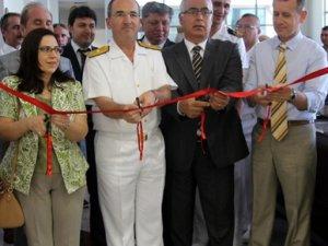 """Mersin'de """"Deniz Haritaları Sergisi"""" açıldı"""
