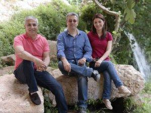 Mersinli avukatlar piknikte stres attı