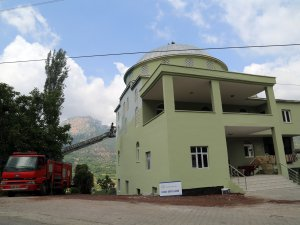 Ramazan öncesi Fakılı Mahallesi Camisi'nin boya ve badanası yapıldı