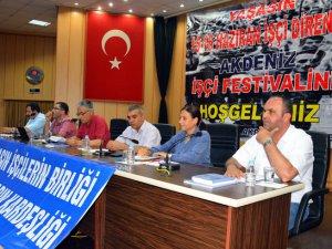 Akdeniz İşçi Festivali'nin 3.sü gerçekleştirildi