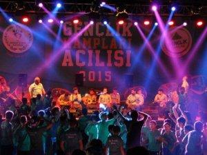 2015 Gençlik Kampları Mersin'de açıldı