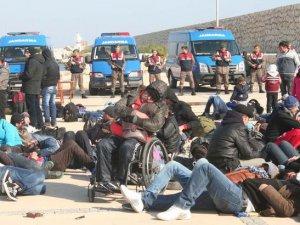 Mersin'de kaçak Suriyeli operasyonu