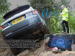 Kumandalı Range Rover Sport ortaya çıktı