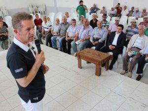 Gülnar'da çiftçilere konferans verildi