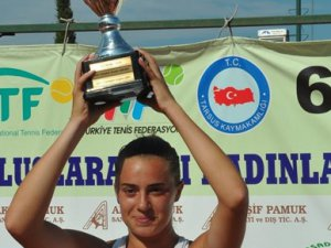 6. Tarsus CUP Uluslararası Kadınlar Tenis Turnuvası sona erdi