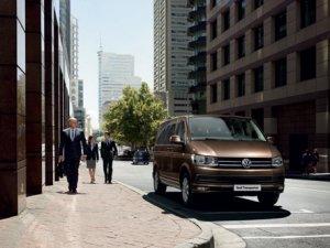 VW Transporter artık daha yeni