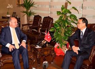 Kore'nin Ankara Büyükelçisi Vali Çakacak'ı ziyaret etti