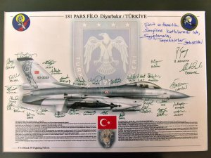 F4 Phantom için Başkan Türe'ye tebrik mektubu