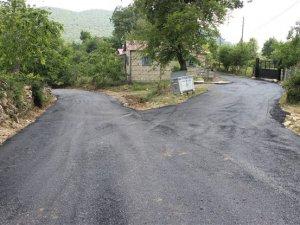 Çamlıyayla yolları asfaltlanıyor