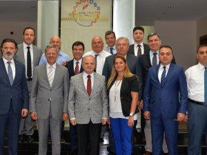 MOSB Müteşebbis Heyet Toplantısı Vali Çakacak Başkanlığı'nda Yapıldı