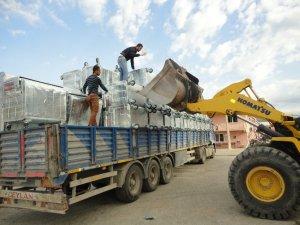 Silifke'ye 710 çöp konteyneri alındı