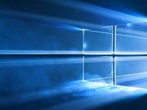 Windows 10'un duvar kağıdı göründü