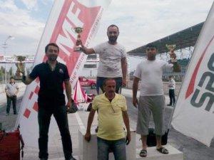 İlk kez katıldığı yarışta Türkiye birincisi oldu
