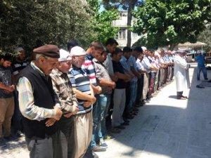Mut'ta Uygur Türkü için gıyabi cenaze namazı kılındı