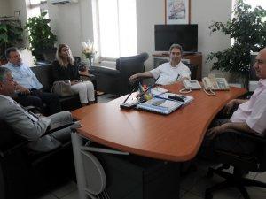 Akdeniz Kent Konseyi temaslarını sürdürüyor