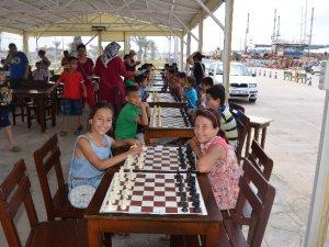 Kabotaj Bayramı Satranç Turnuvası sona erdi