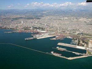Mersin Limanı'na dev teslimat