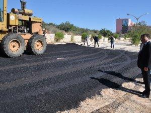 Silifke'de 50 bin metrekare sıcak yol yapımı gerçekleşti