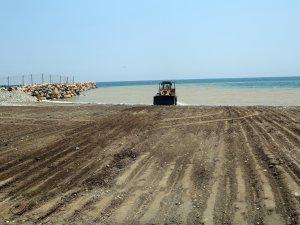 Erdemli sahillerine belediyeden düzenleme