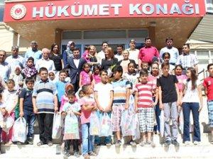 Bakırköy Belediyesi'nden Gülnar'daki öğrencilere yardımeli