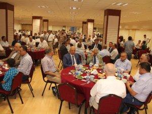 Mersin İl Müftülüğü, iftar yemeğinde din görevlilerini buluşturdu
