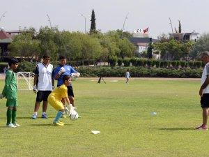 Geleceğin sporcuları Mersin'de yetişiyor