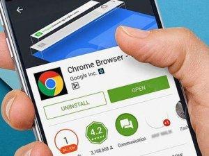 Google Chrome mobilde 1 milyar indirme