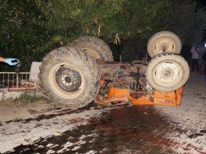 Anamur'da traktörün altında kalan 1 kişi öldü