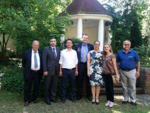Almanya'da Anamur Kardeş Kent Parkı açıldı
