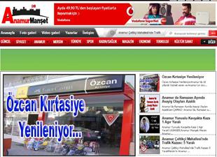 Anamur Manşet haber sitesi yenilendi