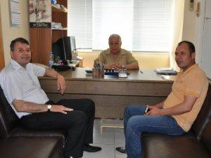 Başkan Turgut, THK Şubesi'ni ziyaret etti