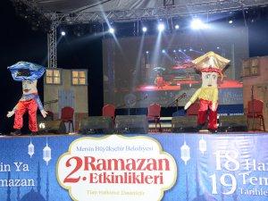 Mersin'de Özgecan Aslan Barış Meydanı'nda Ramazan Etkinlikleri bir başka güzel